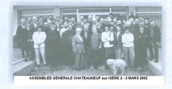 A/G CHATEAUNEUF sur ISERE 2002
